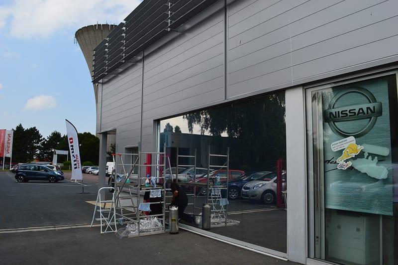 Concession Nissan - Anti-chaleur